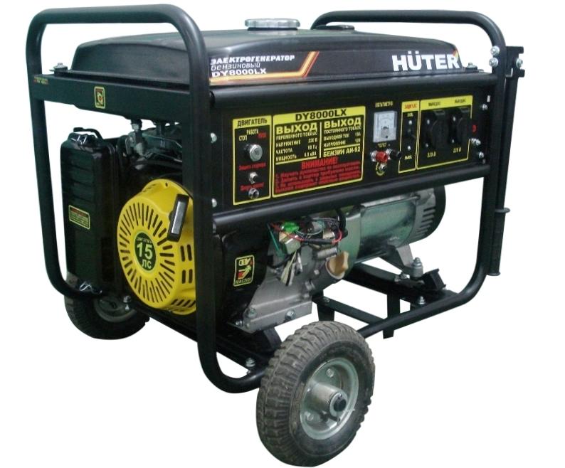 Бензиновый генератор patriot power srge 6500e
